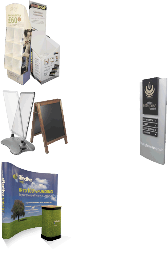 Exhibition Print, Signs and Signage, POS